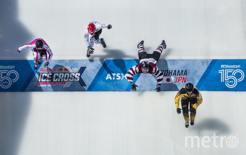 Чемпионат мира по скоростному спуску на коньках Red Bull Ice Cross: этап в Йокогаме обещает быть богатым на события. Фото https://www.redbullcontentpool.com