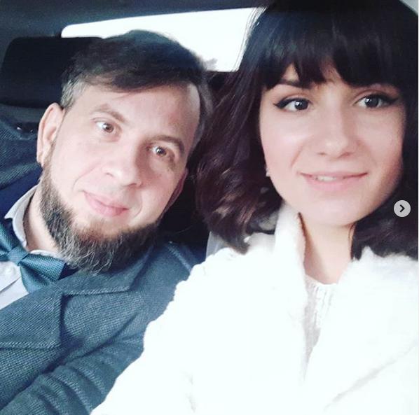Алексей Салтыков и Елена Лысенко. Фото скриншот: instagram.com/lenka.lysenko/