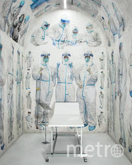 "Проект ""Святые носят белое"". Фото DOESNT-COME-OUT.COM"