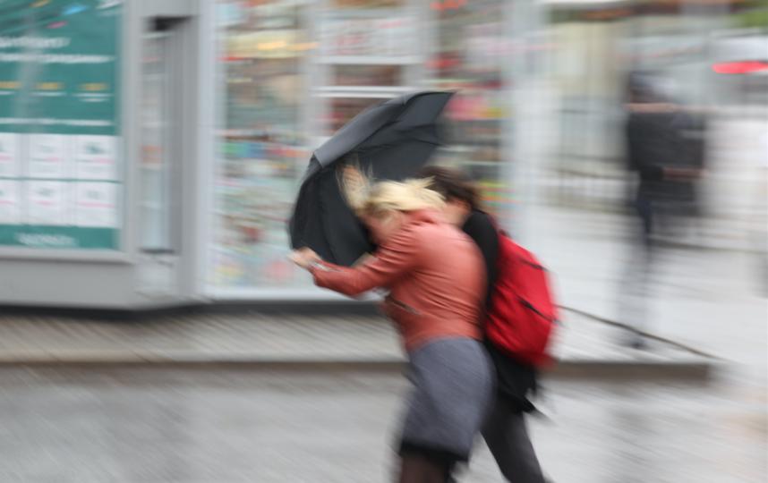 Погода в Москве будет ненастной. Фото Василий Кузьмичёнок