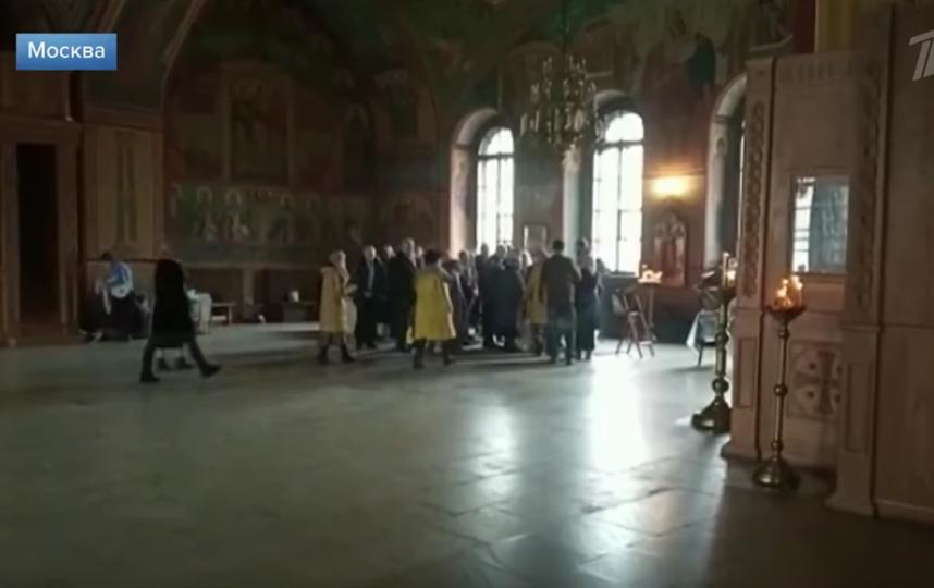 Стали известны подробности нападения на людей в храме в центре Москвы. Фото скриншот youtube.com/watch?v=F65aO_kjkpM