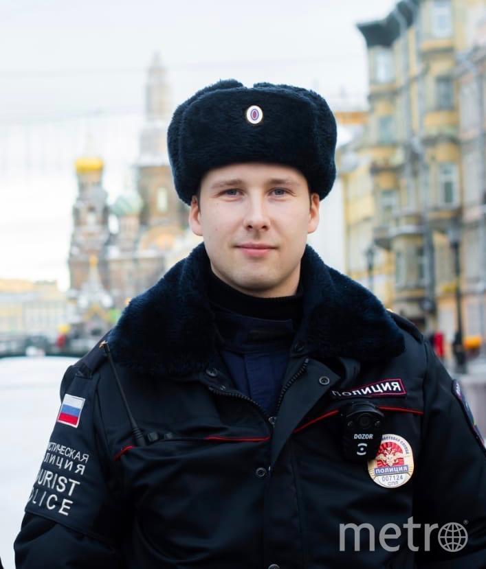 Дмитрий Зайцев. Фото 78.мвд.рф