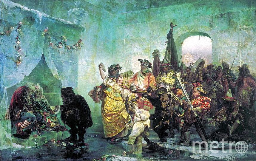 """В. И. Якоби. «Ледяной дом», 1878. Государственный Русский музей. Фото """"Metro"""""""