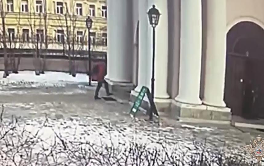 Подозреваемый. Фото ГУ МВД по Москве