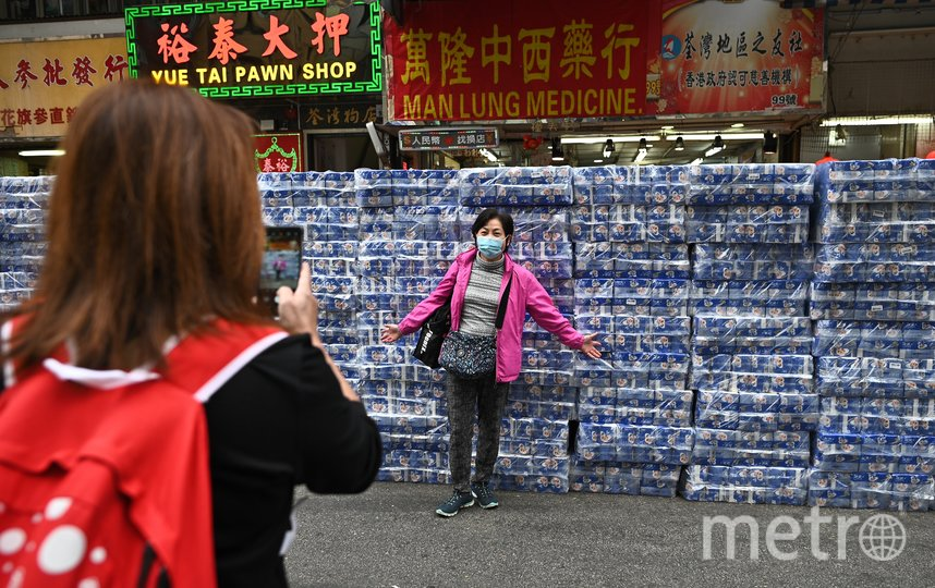 В магазинах Гонконга наблюдается дефицит туалетной бумаги. Фото AFP