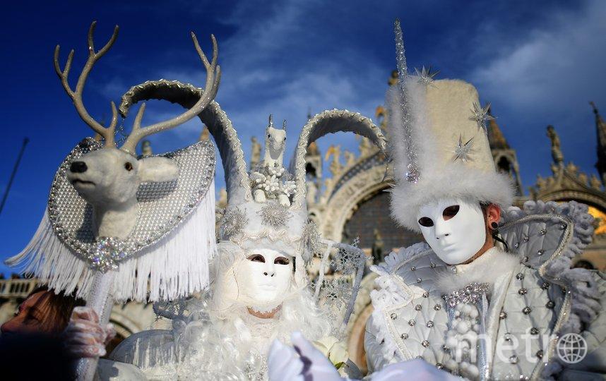 В Венеции проходит традиционный карнавал. Фото AFP