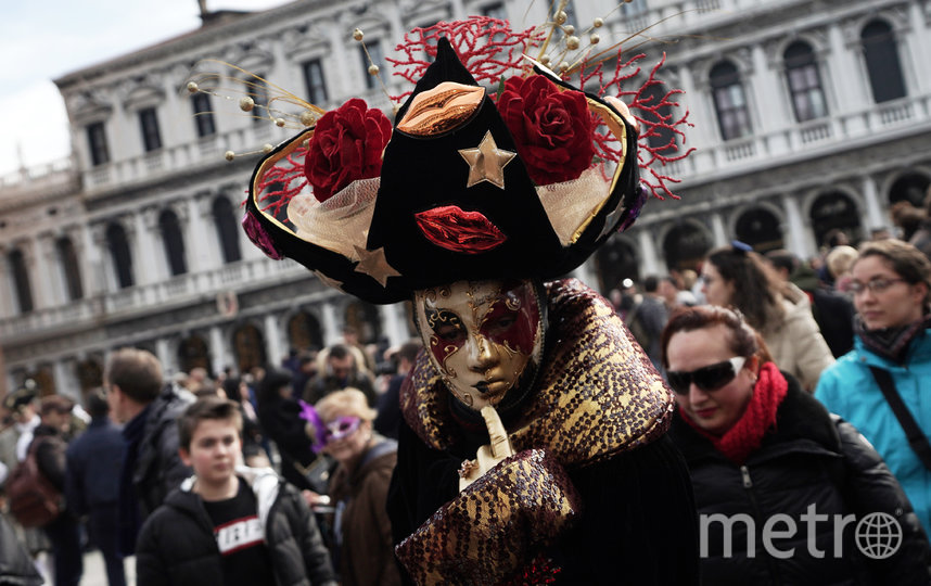 В Венеции проходит традиционный карнавал. Фото Getty