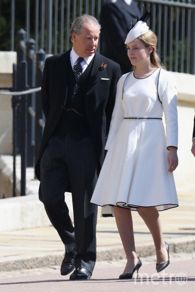 Дэвид Армстронг-Джонс с женой Сереной в 2017 году на свадьбе принца Гарри и Меган Маркл. Фото Getty