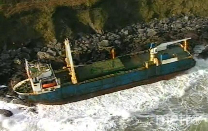 """Грузовое судно """"Альта"""" у берегов Ирландии. Фото AFP"""