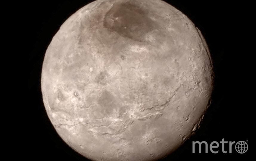 Фото Плутона, сделанное с расстояния 466 000 км. Фото Getty