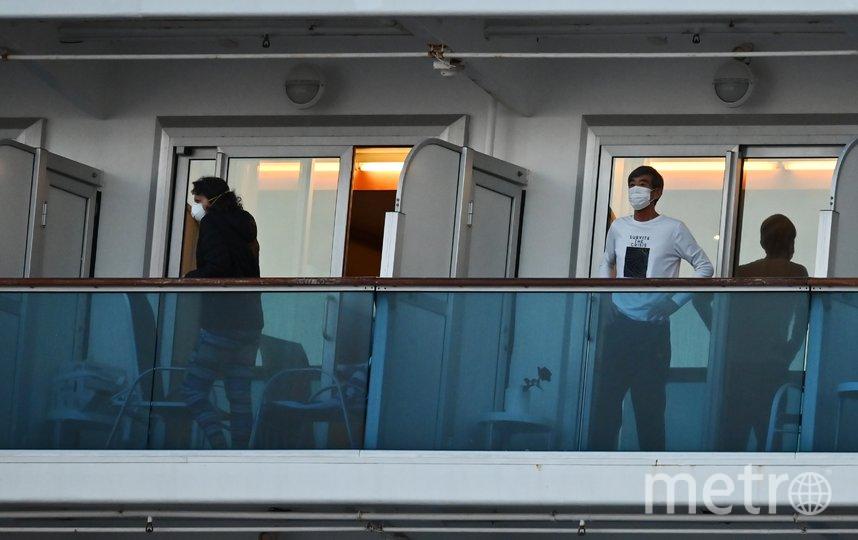 Круизный лайнер. Фото AFP