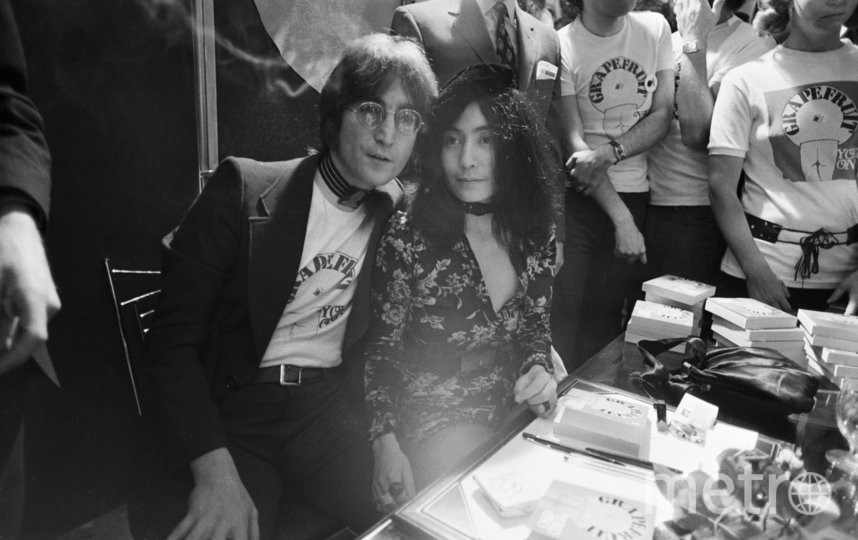 Йоко Оно и Джон Леннон. Фото Getty