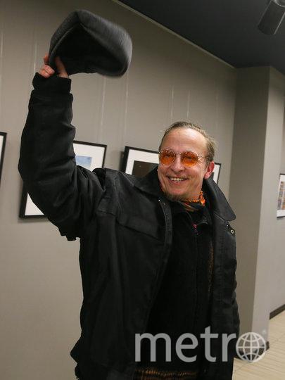 Иван Охлобыстин в студии «Союзмультфильм». Фото Василий Кузьмичёнок