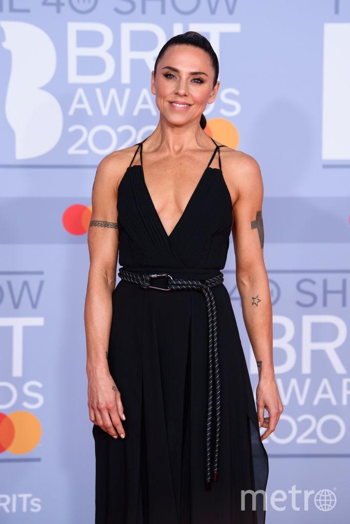 Красная дорожка премии BRIT Awards 2020. Мелани Си. Фото Getty