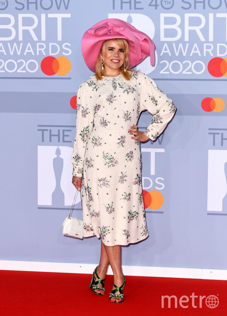 Красная дорожка премии BRIT Awards 2020. Палома Фейт. Фото Getty