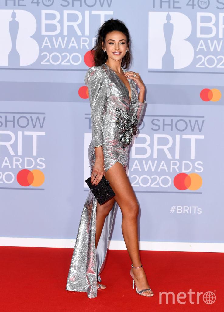 Красная дорожка премии BRIT Awards 2020. Мишель Киган. Фото Getty
