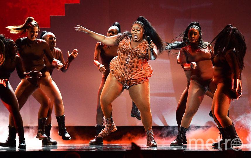 Шоу BRIT Awards 2020. Лиззо. Фото Getty