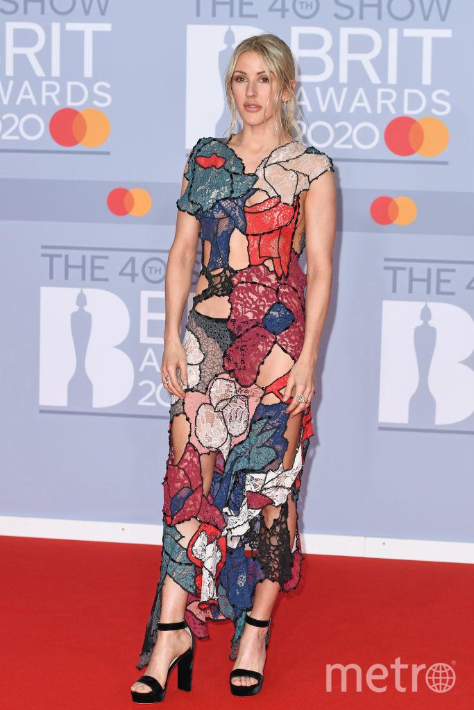 Шоу BRIT Awards 2020. Элли Голдинг. Фото Getty