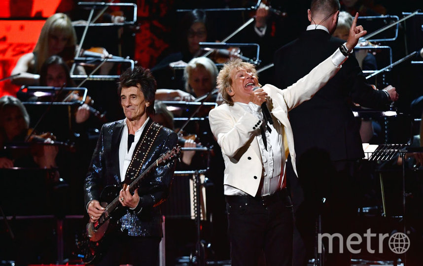 Шоу BRIT Awards 2020. Род Стюарт. Фото Getty