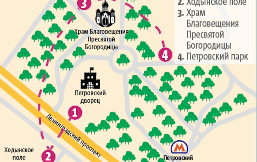 """Схема маршрута. Фото инфографика Андрей Казаков, """"Metro"""""""