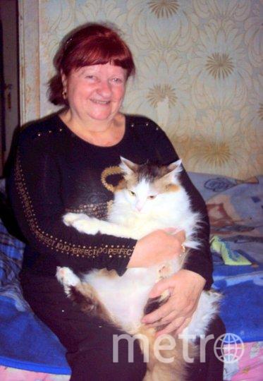 "Кот и его хозяйка. Фото предоставила Евгения, ""Metro"""