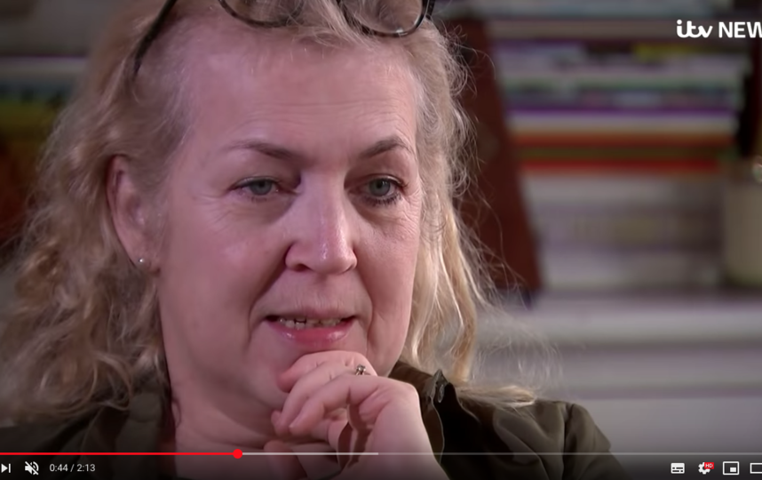 Дагмар Тернер. Фото скриншот YouTube-канал ITV