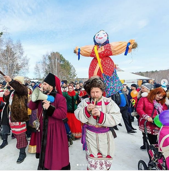 "Масленица - 1 марта. Фото ""Metro"""