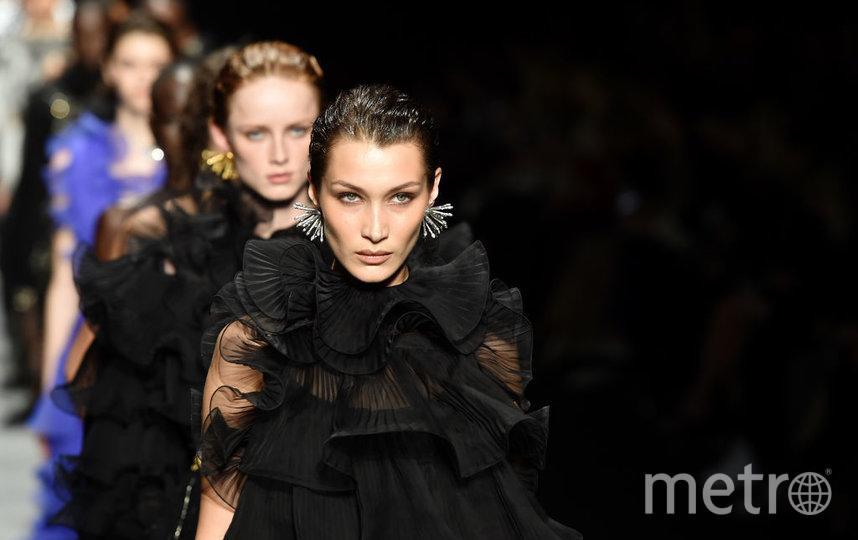 Неделя моды в Милане: показ Alberta Ferretti. Фото Getty