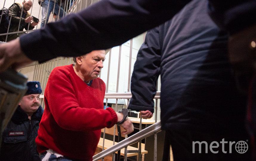 "Олег Соколов в зале суда. Фото ""Metro"""