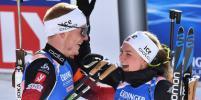 Норвежские биатлонисты выиграли сингл-микст на чемпионате мира