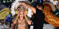 В испанском городе Санта-Крус-де-Тенерифе избрали королеву карнавала: яркие фото