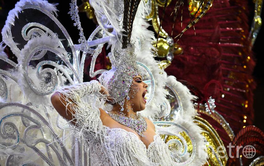 Карнавал в Санта-Крус-де-Тенерифе. Фото AFP