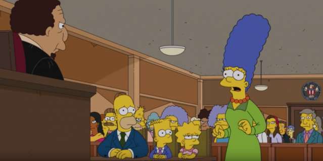 Мардж Симпсон.