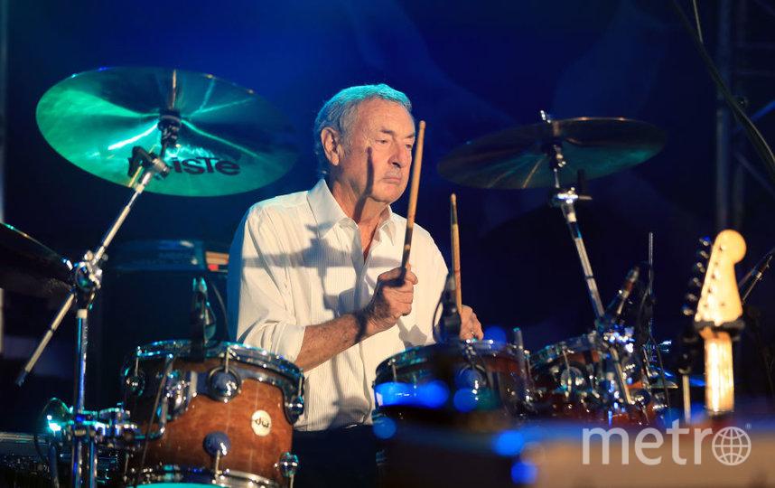 Барабанщик и один из основателей культовой группы Pink Floyd Ник Мейсон. Фото Getty