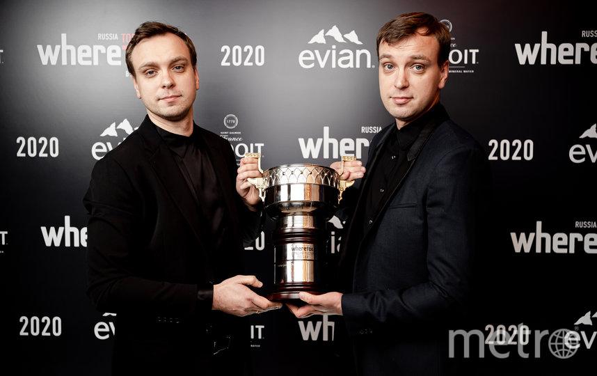 Иван и Сергей Березуцкие с главным призом. Фото Предоставлено организаторами