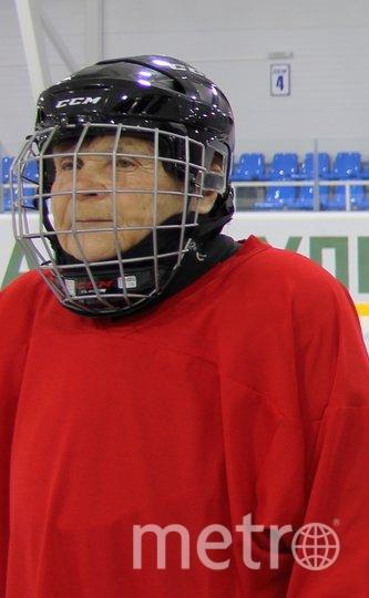Валентина Фёдорова на льду. Фото Галина Симакина