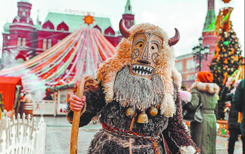 Москвичи увидят шествие окрутников. Фото Московские сезоны