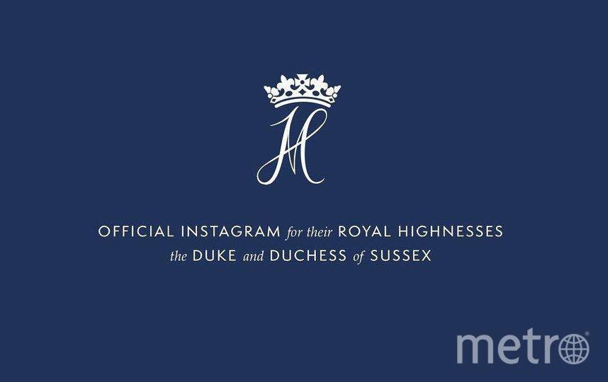 Скриншот Инстаграм герцога и герцогини Сассекских.