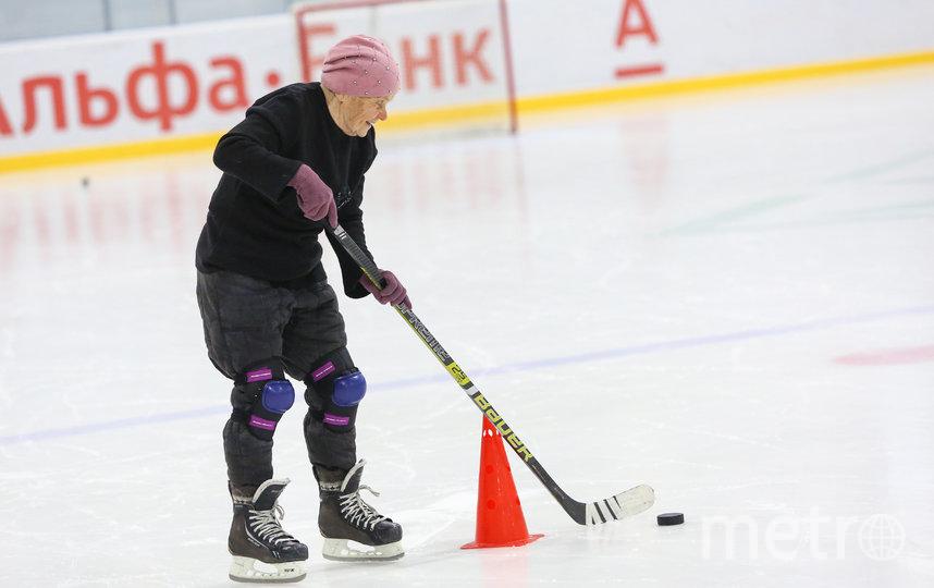 Валентина Павловна на льду - не в полной боевой форме. Фото Елена Вдовина/@vdovina_elena