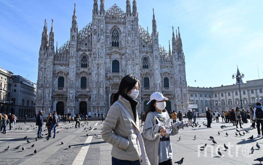 Миланский собор закрыт для посещения. Фото AFP