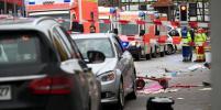 На карнавале в Германии машина врезалась в толпу