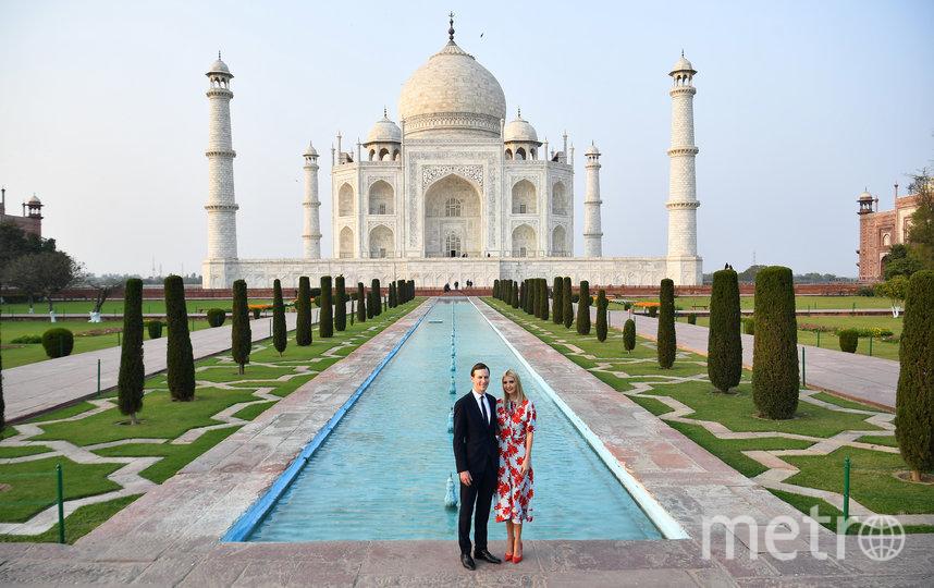 Иванка Трамп с супругом. Фото AFP