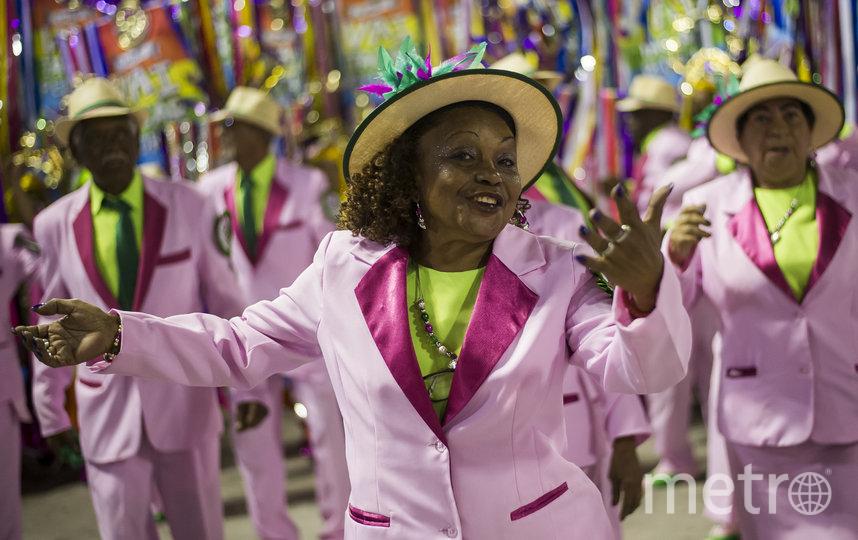 В Рио-де-Жанейро проходит карнавал. Фото Getty