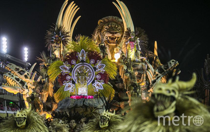 Неотъемлемой частью ежегодного шествия являются потрясающие декорации. Фото Getty
