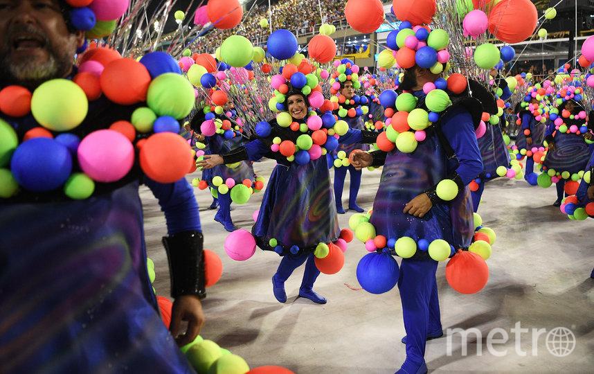 В Рио-де-Жанейро проходит карнавал. Фото AFP