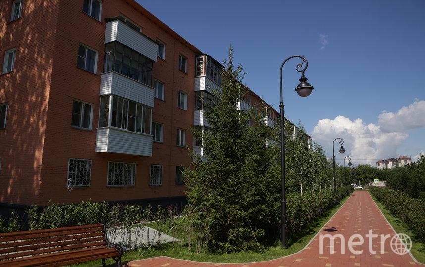 В 2019 году в городе капитально отремонтировали  496 многоквартирных домов. Фото пресс-центр Мэрии Новосибирска