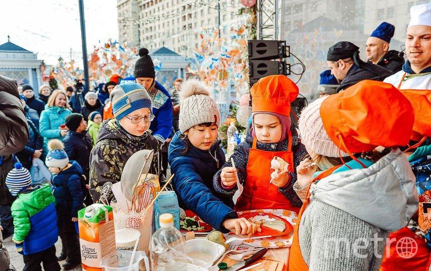 Москвичей ждут блинные мастер-классы. Фото Московские сезоны