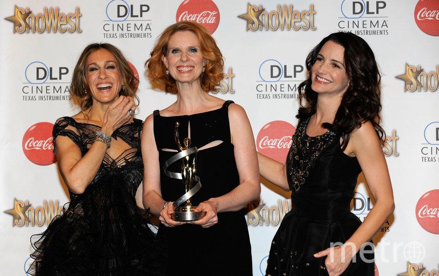 Синтия Никсон с коллегами по сериалу. Фото Getty