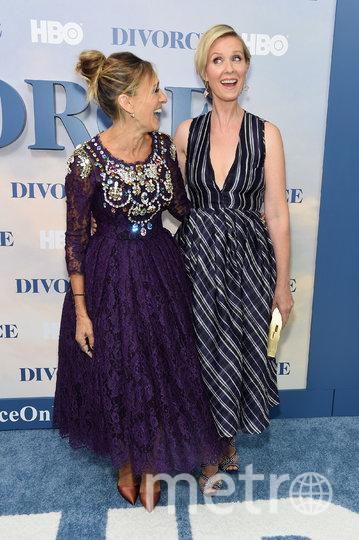 Синтия Никсон и Сара Джессика Паркер. Фото Getty