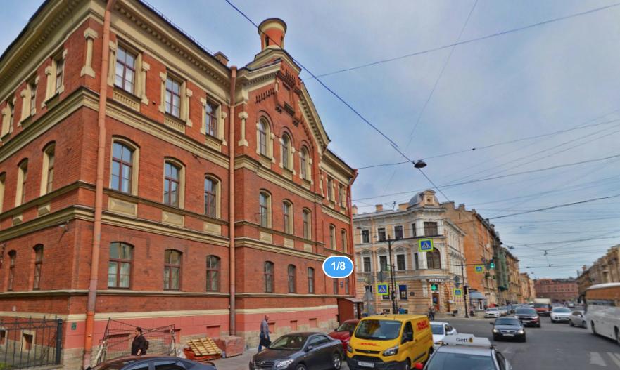Девочку госпитализировали в ДГБ №19 им. Раухфуса. Фото Яндекс.Панорамы
